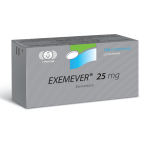 Exemever (Exemestane) 25 mg 100 Tabs