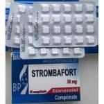 Strombafort 50 mg (Stanozolol) 60 Tabs