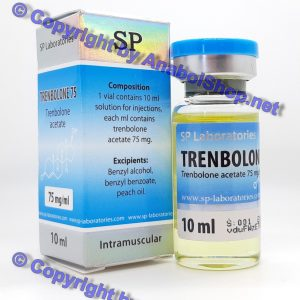 SP Trenbolone 75 10 ml vial